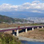 富士山をながめながら