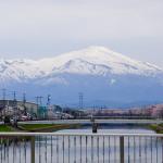 鳥海山とワンタン麺——春の庄内散歩旅その4(最終回)